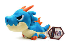 "ON SALE! Official Capcom Monster Hunter 5"" Stuffed Plush Doll Toy- Lagiacrus!!"