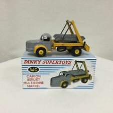 DINKY SUPERTOYS 34C CAMION BERLIET MULTIBENNE MARREL PROTOTYPE