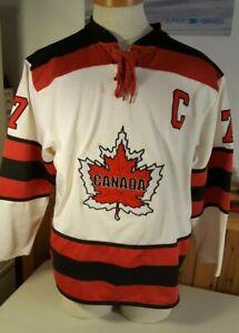 Canada Hockey Jersey Number 7 Maple Leaf Mens Medium