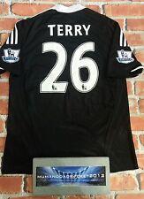 John Terry Chelsea Football Shirt Away Home avec étiquettes pour Homme Large
