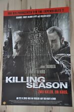 Filmposter Filmplakat DINA1 A1 - Killing Season - Zwei Killer Ein Krieg - Neu