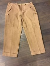 Polo Tweed Fatigue Ralph Lauren Cargo Pants Men's Vintage 40 X 32 Military