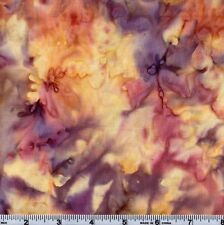 Hoffman Bali Batik Watercolors 1895 1243 Amethyst Goddess  By The Yard