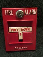 Simplex Fire Pull Station