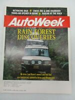 AUTO WEEK MAGAZINE MARCH 7, 1994 RANGE ROVER TOYOTA T100 SR5 CHEVROLET S-10 ZR2