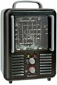 Electric Portable Space Heater Room Home Heating Adjustable Thermostat 1500 Watt