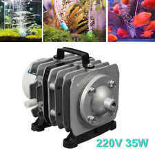 220V 40L/min Oxygen Air Pump Magnetic Aquarium Hydroponics Pond Fish Tank