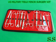 6 KITS OF 53 PC US MILITARY FIELD MINOR KIT SURGICAL INSTRUMENTS DS-1015
