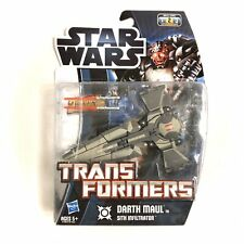 Star Wars Transformers DARTH MAUL to SITH INFILTRATOR 2012 - NEW