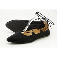 Zapatos planos de mujer de color principal negro de lona