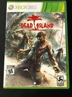 Dead Island (Microsoft Xbox 360, 2011) Complete tested working