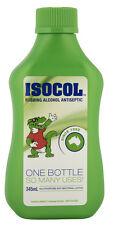 1 x Isocol Rubbing Alcohol Antiseptic 345mL (Contains 64%v/v Isopropyl Alcohol)
