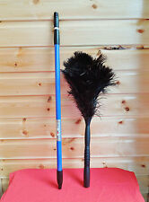 "2 x 50"" Quality Ostrich Feather Duster with Extendable arm to75"" discount two"