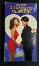 So I Married an Axe Murderer (VHS, 1994) Mike Myers Nancy Travis Preowned-Tested