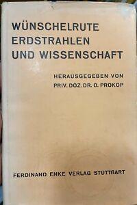 Prokop Otto: Wünschelrute Erdstrahlen Wissenschaft, Prokop Otto, Wünschelrute
