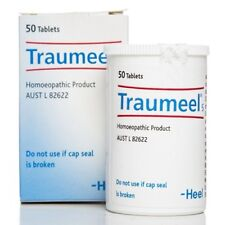 Traumeel Tablets Natural Anti-Inflammatory by HEEL  Can use with Cream or Gel