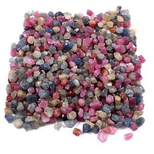 AAA 300 Ct 100.00 % Natural Ceylon Multi Sapphire Gemstone Facet Grade Rough Lot