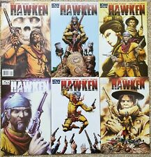 HAWKEN # 1-6; Timothy Truman, 2011, wierd western, limited series, IDW, NM