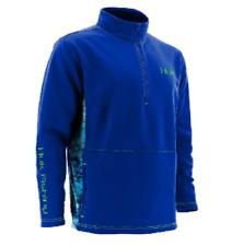 NEW Huk Men's Kryptek Camo Fleece 1/4-Zip Pullover Size Small