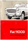FIAT 1100 D - BERLINA E FAMILIARE Uso e Manutenzione!