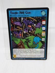 Neopets Card Battle For Meridell Tangle Net Gun 138/140. 2004 LP