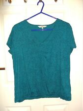 DEBENHAMS COLLECTION - GREEN TOP - SIZE 12 - EX CON