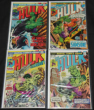 Marvel Bronze Age INCREDIBLE HULK 29pc Count Mid-High Grade Comic Lot VF-NM