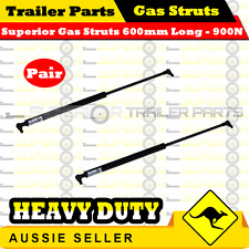 2 x Superior Gas Struts 600mm Long 900N - TRAILER CARAVAN TENT