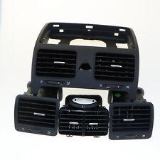 Qty 4 VW Volkswagen Golf Jetta MK5 Black Instrument Panel Air Vent OEM 1K0819728