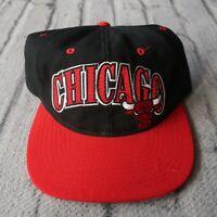 Vintage 90s Chicago Bulls Snapback Hat by Starter Cap