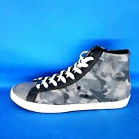 Leather Crown Herren Schuhe High Top Sneaker Sportschuhe Leder Muster Np 269 Neu