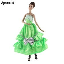 Summer Fashion Doll Dress For Barbie Doll Clothes Outfits Princess Party Gown1/6