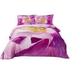 6 PC Queen Duvet Cover Set 100% Cotton Fitted Sheet Bedding Dolce Mela DM703Q
