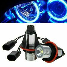 2PC Blue Angel Eyes Halo LED Light Bulbs No Error For BMW E39 E60 E53 X5 E83 E87
