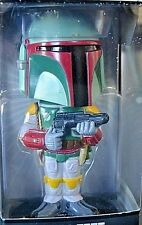 Star Wars Boba Fett Bobblehead Wobble Head Figurine 2008 Funko New