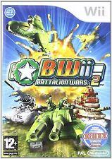 Wii Battalion Wars 2 Nuevo Precintado Pal España