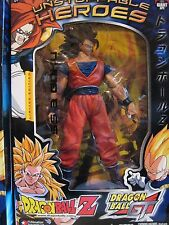 """2004 LIMITED EDITION UNSTOPPABLE HEROES DRAGON BALL Z 9"""" SS3 GOKU ACTION FIGURE"""