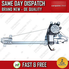 FOR SAAB 9-5 1999>2009 REAR LEFT SIDE ELECTRIC WINDOW REGULATOR WITH 2 PIN MOTOR