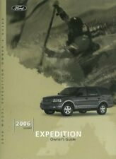 Oem Maintenance Owner's Manual Bound for Ford Truck Expedition 2006
