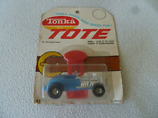 NEW ON CARD TONKA TOTE DOUBLE DEUCE NO 181 CARDED VINTAGE CAR RARE DIECAST NOC