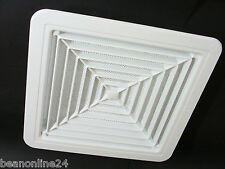 Ceiling Mount Air Vent / Grille with Flyscreen - Snap-In 320 x 320mm