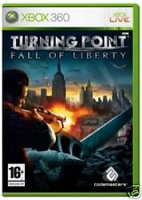 Turning Point Fall of Liberty XBOX 360 Video Juego Original UK release como nuevo