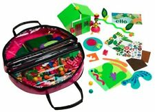 ello Creation System: Jungala Create and Carry Deluxe Set by Mattel (MC)