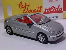 3.5 INCH Peugeot 206 Coeur 2002 Solido 1/43 Diecast Mint in Numbered Box