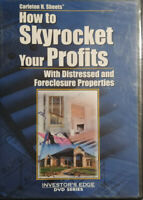 HOW TO SKYROCKET YOUR PROFITS WITH DISTRESSED AND FORECLOSURE PROPERTIES DVD NEW