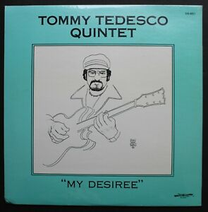 Tommy Tedesco Quintet Sealed Discovery Jazz Guitar LP 1982