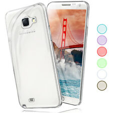 Silicone Case For Samsung Galaxy Note 2 Protective Transparent Thin Back Cover