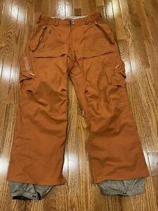 Burton Ronin Men medium burnt orange, medium