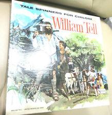 1960'S William Tell Tale Spinners for Children Vinyl LP ALBUM EXCELLENT COND.