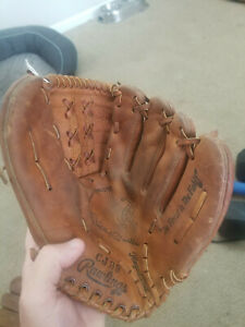 Mickey Mantle Rawlings Model CJ 99 Vintage Baseball glove- Excellent Condition!